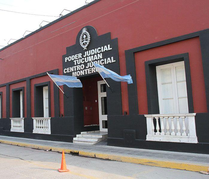Fachada del Centro Judicial Monteros. Foto de Archivo